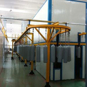 CNG cylinder powder coating machine