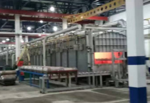 heat treatment Furnace for CNG production line