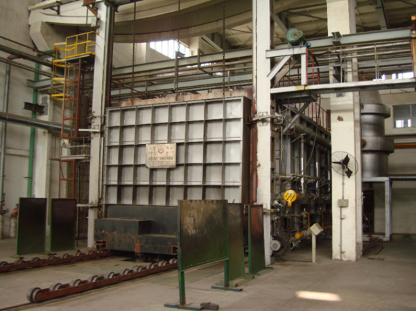 heat treatment system for cylinder